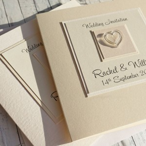 Atholl Classic Fold Wedding Invitations - Option 2