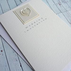 Atholl Classic Fold Wedding Invite - Option 1