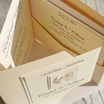 Atholl Pocket Fold Wedding Invite