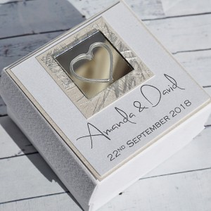 Liath wedding favour box