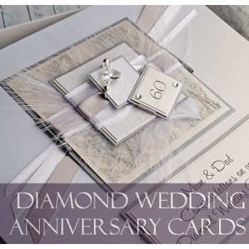 Diamond Wedding Anniversary Cards