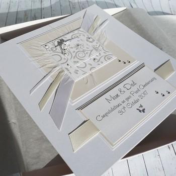 Pearl Wedding Card