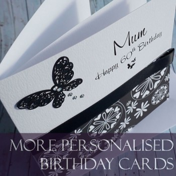 Personalised Birthday Cards Handmade For Special People And Ages
