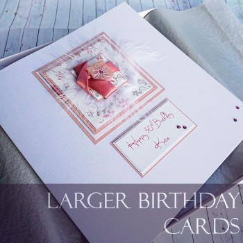 Larger Size Birthday Cards