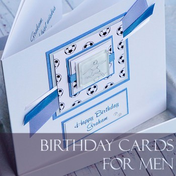 Personalised Handmade Birthday Cards For Men