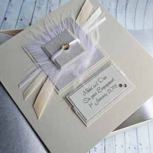 Elegance Boxed Engagement Card
