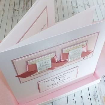 Twin Baby Handmade Cards