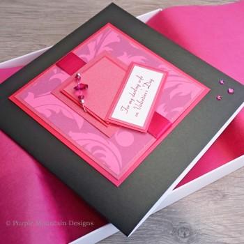 """Luxury Valentine's Day Card """"Cocktail"""""""