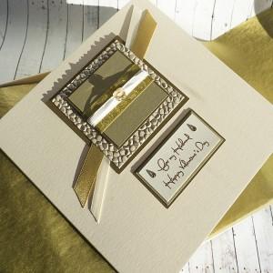 "Luxury Valentine's Day Card ""Martini"""