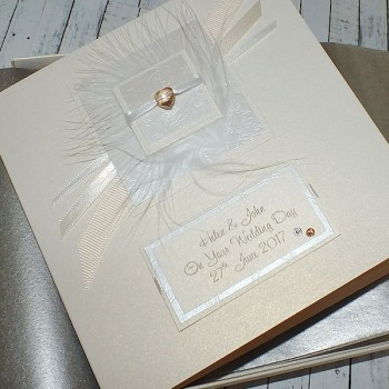 Elegance Boxed Wedding Card