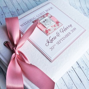 Iona Butterfly Wedding Guest Book