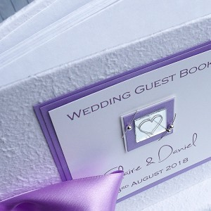 "Wedding Guest Book ""Jura"""