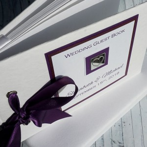 Leven Wedding Guest Book