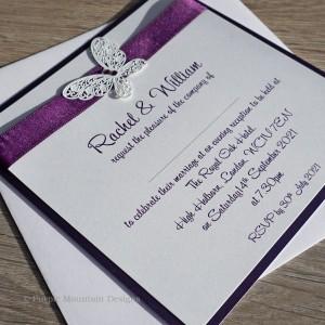 Harris Flat Handmade Wedding Invitations