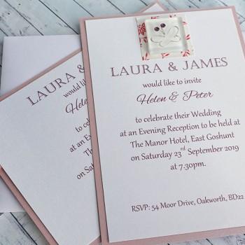 IONA Handmade Flat Wedding Invitation
