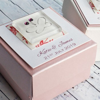 Iona wedding favour box