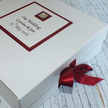 Miami Wedding Keepsake Box