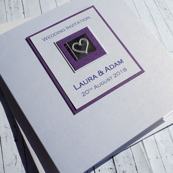 Leven Classic Handmade Wedding Invitations