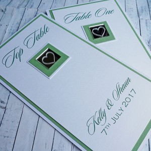 Leven Table Name or Number Cards