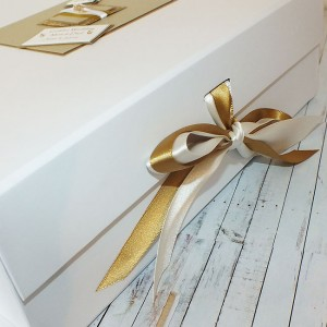 Golden Wedding Anniversary Keepsake Box