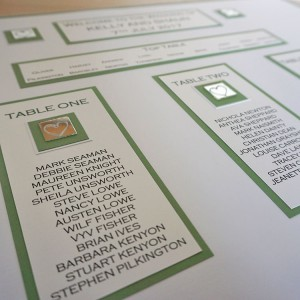 Leven Wedding Table Plan