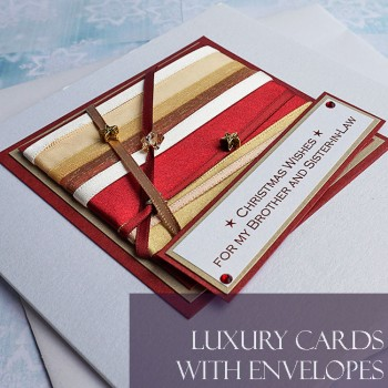 Standard size luxury Christmas Cards