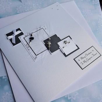 "Luxury Christmas Card ""Xmas Cascade"""