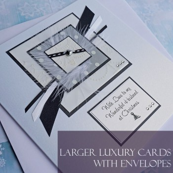 Large Christmas Cards with envelopes