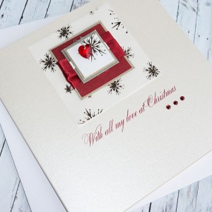 "Luxury Christmas Card ""Spices"""