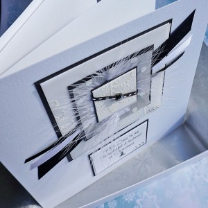 "Luxury Boxed Christmas Card ""Winter Forest"""