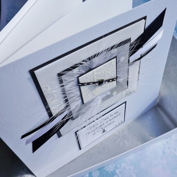 """Luxury Boxed Christmas Card """"Winter Forest"""""""