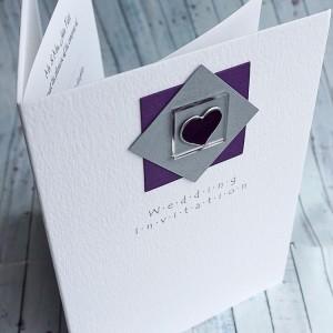 "Handmade Wedding Invitation ""Assynt"""