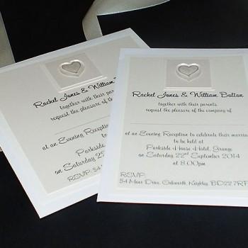 Atholl Flat Wedding Invites