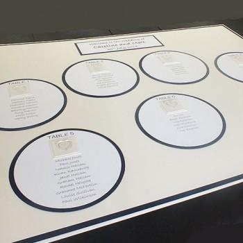 Atholl Wedding Table Plan