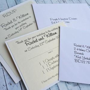 Atholl Handmade reply cards