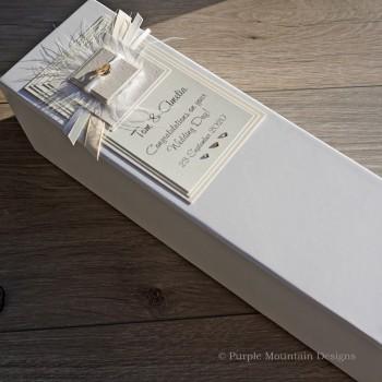 Wedding gift bottle box