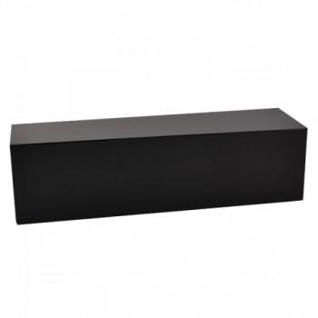 Black bottle gift box - plain