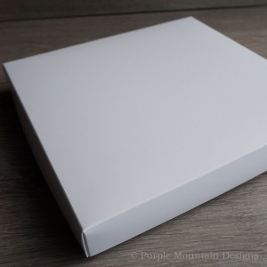 White card presentation boxes