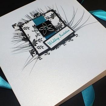 Eden Wedding Invite - Blue