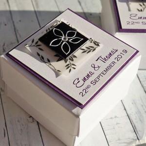 Eden wedding favour box