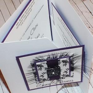 Eden Pocketfold Wedding Invitations