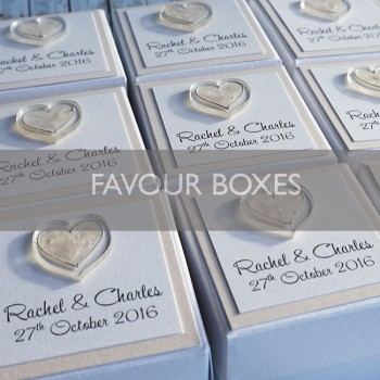 Handmade Wedding Favours
