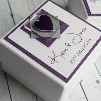 Assynt wedding favour box