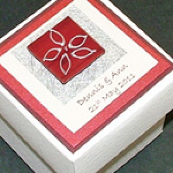 Skye wedding favour box
