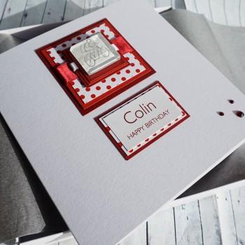 Boxed Cycling Birthday Card