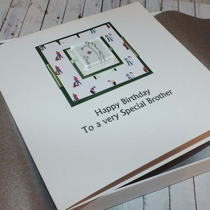 Golf Boxed Birthday Card