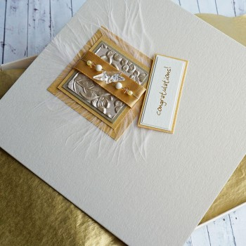 "Boxed Congratulations Card ""Gold Star"""