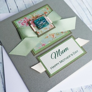 "Mother's Day Card ""Vintage Daisy"""