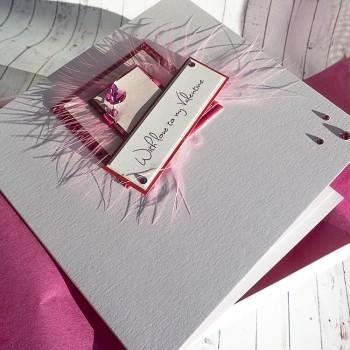 """Luxury Valentine's Day Card """"Champagne"""""""