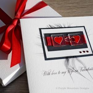 """Luxury Valentine's Day Card """"Manhattan"""""""